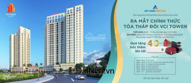 Chỉ từ 300 đã sở hữu 1 căn chung cư cao cấp ngay trung tâm tp vĩnh yên: 0968158012 Mr Hoàn