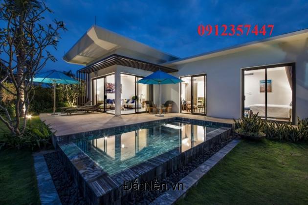 Biệt thự nghỉ dưỡng biển Melia Hamptons Hồ Tràm giá chỉ 20 triệu/m2 . Lh 0912357447