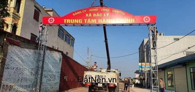 Cần chuyển nhượng lô đất 2 mặt tiền phố Hoa, Bắc Lý