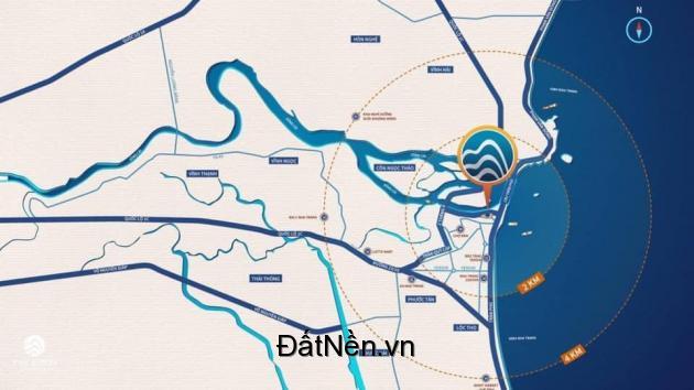 Căn hộ ven sông Cồn Tân Lập, sỡ hữu lâu dài, vị trí đắc địa nhất Tp Nha Trang