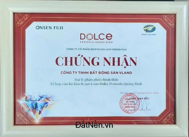 Căn hộ Nghỉ dưỡng Ven Biển đầu tiên tại Quảng Bình tiêu chuẩn 6* giá từ 720tr