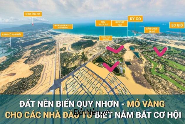Đất nền sổ đỏ - Sở hữu vĩnh viễn XD tự do TP biển Quy Nhơn, giá chỉ 1,6 tỷ, TT 18th, NH hỗ trợ vay