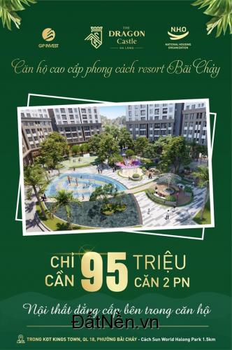 Chỉ từ 950 triệu sở hữu ngay Căn hộ phong cách Resort đẳng cấp Hàn Quốc tại Hạ Long