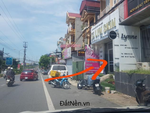 Bán 97m2 đất ở, giá tốt mặt tiền đường Trần Phú, TP. Vĩnh Yên