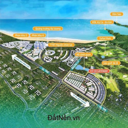 Kỳ Co Gateway - đô thị phồn hoa bên vịnh biển - sổ đỏ sử dụng lâu dài, giá chỉ từ 1.5 tỷ/nền(Tùy nền)