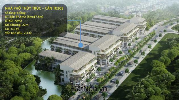 Bán nhà phố thương mại Thủy Trúc - Ecopark hướng Đông Nam chỉ cần 2.1 tỷ