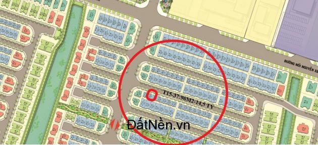 CƠ HỘI DUY NHẤT - 1 lô shophouse 96m2 T15-37-KHÔNG CHÊNH-SÁT ĐƯỜNG CHỮ T: LH-0974483586