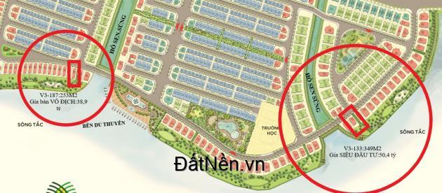 Biệt thự ĐỂ Ở-2 MẶT TIỀN-view Sông TắC ĐẲNG CẤP NHẤT SÀI GÒN V3-187 & V3-133:LH-0974483586