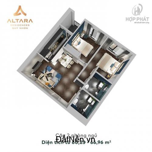 Bán căn hộ 5 sao mặt biển Altara, đường Trần Hưng Đạo, Quy Nhơn. giá 1,5 tỷ/căn