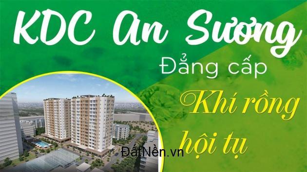 Bán nguyên khu đất gồm 40 nền biệt thự xây theo chuẩn bàn giao thô, 2 mặt tiền đường khu dân cư An Sương, Call 090.268.5050