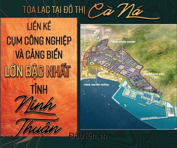 Cần tiền để xây nhà nên cần bán gấp 2 nền đất Cà Ná, quốc lộ 1A, Thuận Nam