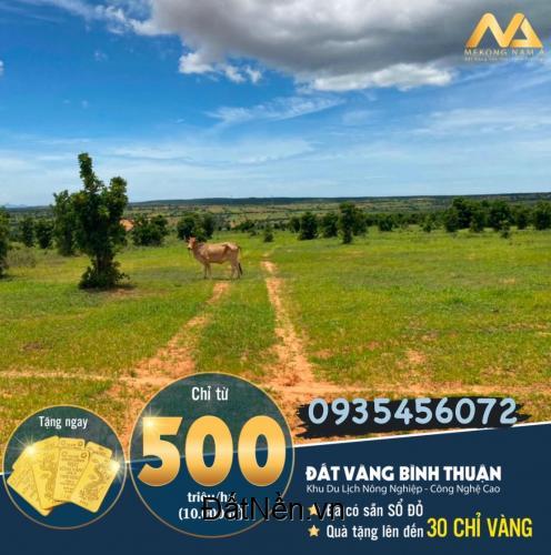 Nam Á Garden Đất vườn đầu tư lợi nhuận Bắc Bình-Bình Thuận(Sổ Đỏ) giá chỉ từ 50.000vnđ/m2