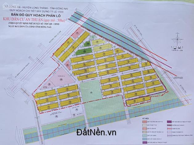 Còn 5 lô vị trí đẹp, gần trường học đang xây sắp song tại kdc An Thuận,ngã ba Nhơn Trạch 0868292939
