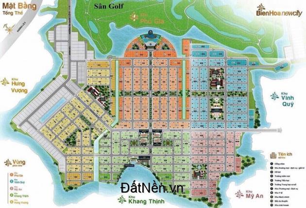 Chính chủ bán 100m Biên Hòa New City đã có sổ giá 1,550 tỷ