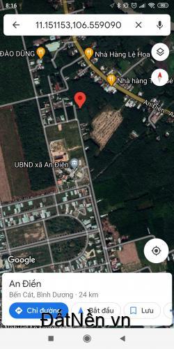 Nhà xuống TDM ở nên bán lô đất ở Bến Cát