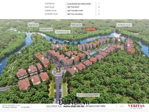 Chỉ Với 70 Lô Biệt Thự ven Sông Dương Đông - Trung Tâm Phú Quốc - Liên Hệ 0908 245 283