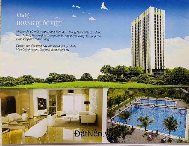 Chỉ cần thanh toán khoảng 800tr nhận ngay căn hộ Hoàng Quốc Việt Quận 7