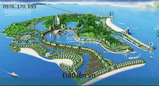 Bán đất Tuần Châu, Khu Đô Thị Cảng Tàu, Lô Góc, Mt 8m, Rẻ 8 tỷ.