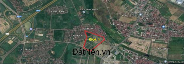 Cần bán đất dân cư dịch vụ tại xã Phù Phẩn - Từ Sơn - Bắc Ninh.