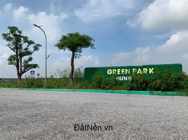 CHỈ VÀI LÔ DUY NHẤT ĐẤT NỀN SỔ ĐỎ GREEN PARK HƯNG HÀ 950TR / LÔ
