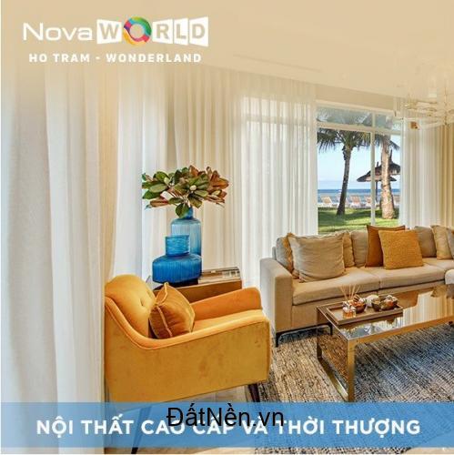 Bán biệt thự biển Wonderland Hồ Tràm có lợi nhuận 600 triệu/năm giá 12 tỷ/căn full nội thất. Lh 0912357447