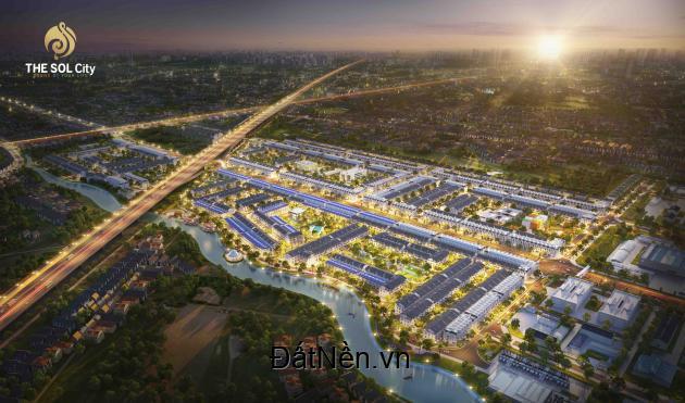 Mở bán đợt 1 đất nền dự án The Sol City Nam Sài Gòn,chiết khấu đến 12%