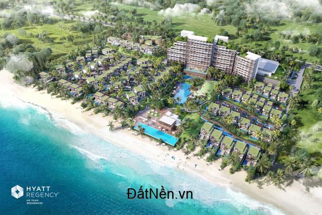 Bán căn biệt thự mặt biển Hyatt Regency Hồ Tràm suất ngoại giao CĐT full nội thất 5*.PKD 0912357447