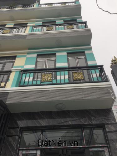 Bán nhà mới đẹp 1 trệt 2 lầu,sân thượng, Huỳnh Tấn Phát Nhà Bè