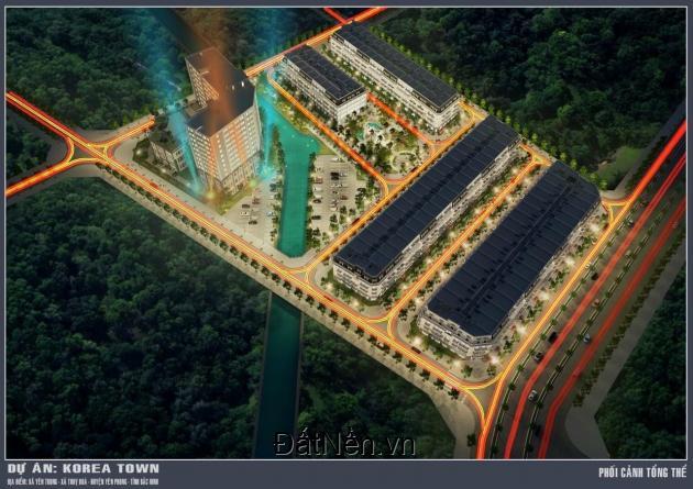 Mở bán đất shophouse Korea Town Bắc Ninh, giá chỉ 3.8tỷ/105m2 cơ hội đầu tư nhanh tay không hết