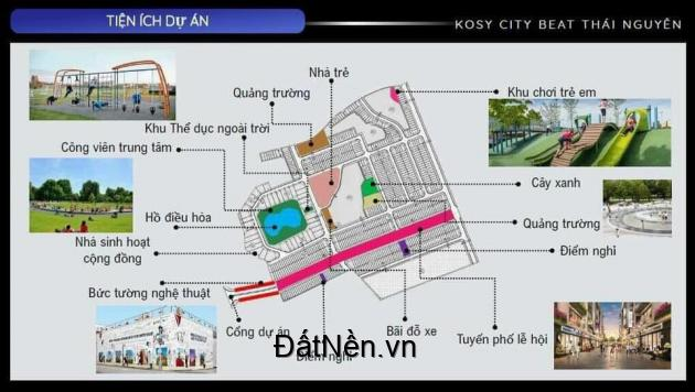 Đất nền trung tâm thành phố giai đoạn 1