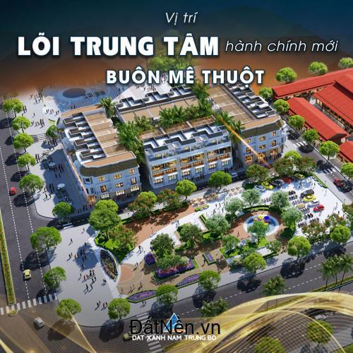 Đất nền đô thị TTTP Buôn Ma Thuột (khu Sporta) giá chỉ bằng 1 lô đất hẻm.