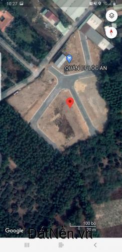 Cần bán lô đất sổ hồng sẵn, thổ cư 100% khu TĐC Lộc An.lh0974658488