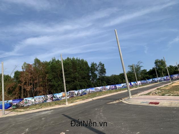 Đất nền ngay khu tái định cự Lộc An.
