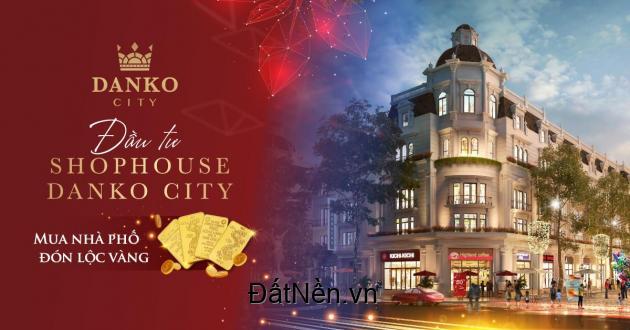 Shophouse mặt đường 30m ngay cổng chính Danko City Thái Nguyên, SĐCC. Liên hệ ngay: 03.6768.6322