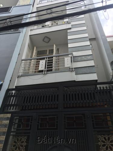 Cho thuê nhà 3 tấm hẻm 344 Bình Trị Đông giá 8tr