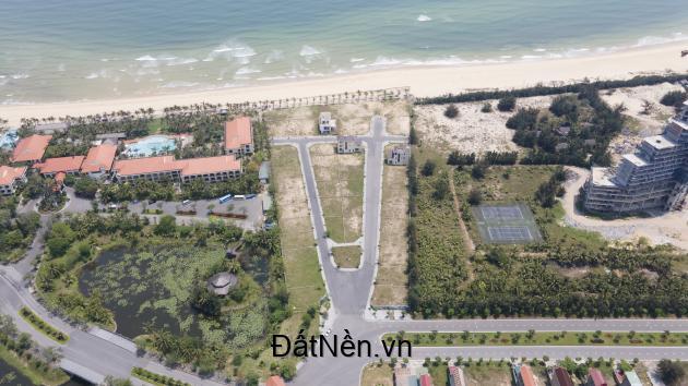 Giới hạn chỉ 12sp duy nhất đất nền biệt thự mặt biển sở hữu sổ đỏ lâu dài.