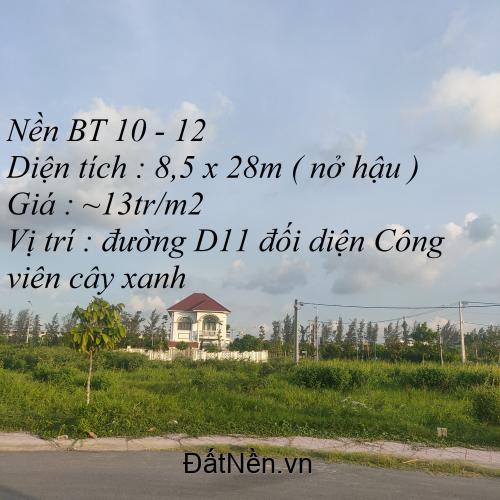 Nền Biệt thự Triệu Phú Gia - MKC Sóc Trăng