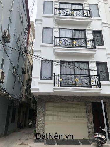 Bán nhà siêu đẹp Phùng Chí Kiên, nhà mới ô tô tránh thang máy, lô góc KD.