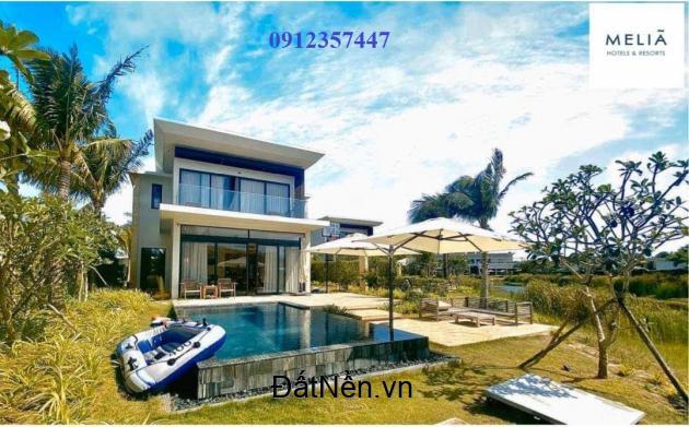 Chính chủ bán căn Beach Villa 3PN Melia Hồ Tràm gia đình mua dùng. LH 0912357447