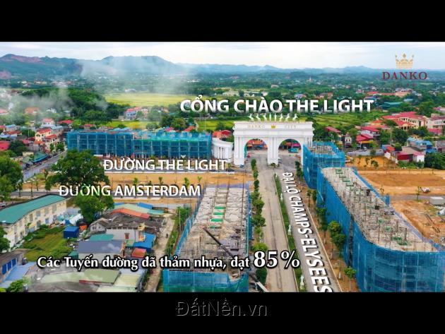 5 SUẤT NGOẠI GIAO  HÀNG HOT - ĐỘC QUYỀN, TRỤC ĐƯỜNG 30M TẠI DANKO CITY THÁI NGUYÊN