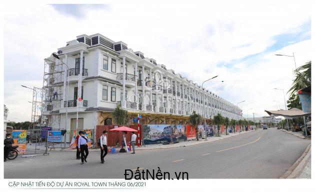 Mở bán 74 căn nhà Royal Town theo chuẩn châu Âu giá chỉ 4,5 tỷ/căn