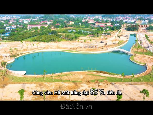 Đất Nền Thái Nguyên nằm sát Trung Tâm Thành Phố chỉ từ 600tr