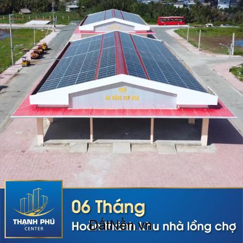 Đất thổ cư mặt tiền chợ mới Thạnh Phú Bến Tre