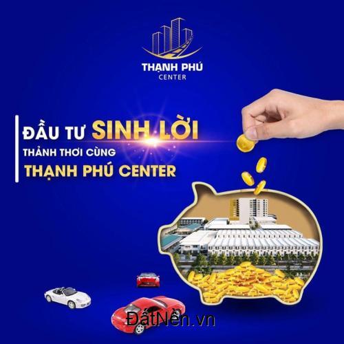 Chỉ 500 triệu khách hàng sở hữu ngay đất mặt tiền chợ mới Thạnh Phú