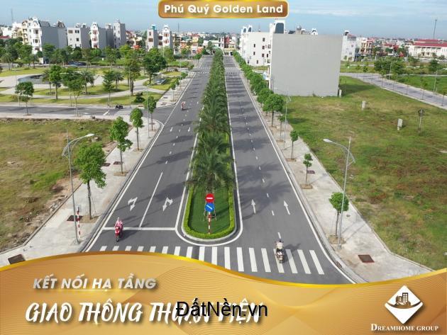 Dịch Covid cần bán gấp lô liền kề 09 khu đô thị Phú Quý Hải Dương