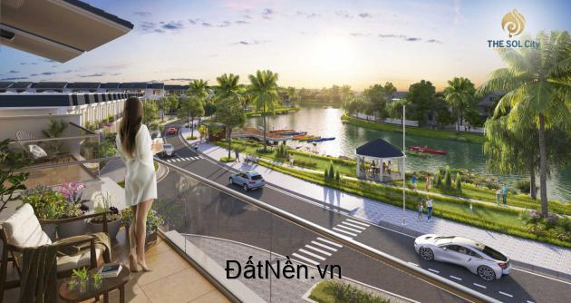 Chỉ 2.7 tỷ/nền nhà phố, Thanh toán 550 triệu, sở hữu tại The Sol City