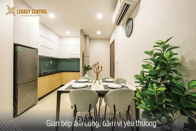 Căn hộ Legacy Central, không gian sống chuẩn mực và tiện nghi cao cấp