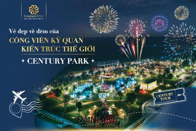 Vẻ đẹp lung linh về đêm của công viên kỳ quan kiến trúc thế giới Century Park