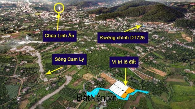 Bán đất nghỉ dưỡng ngoại ô Đà Lạt tại Thị Trấn Nam Ban