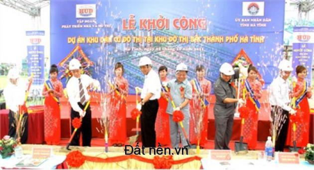 Mở Bán Đất Nền Dự Án Khu Đô Thị Bắc TP Hà Tĩnh